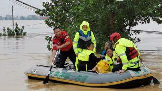 洪涝灾害已致乐虎足球下载439.8万人受灾 35.2万人紧急转移安置