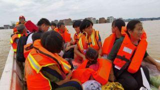 洪涝灾害已致乐虎足球下载505.3万人受灾  紧急转移40.5万人