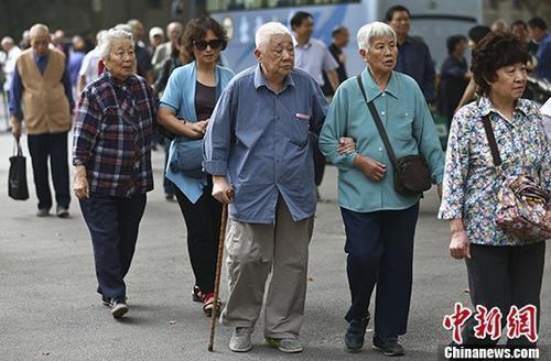 退休人员资料图。<a target='_blank' href='http://www.chinanews.com/'>中新社</a>记者 泱波 摄