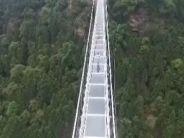 重庆玻璃栈桥漫步云端