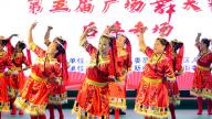 """第十八届""""新安源·新形象""""群众文化活动第五届广场舞大赛后埠专场顺利举行"""