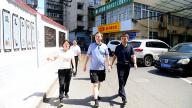 黄卫东督导萍乡后埠街柑子园社区廉洁工作平台建设