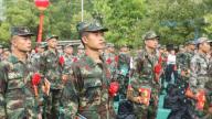 2020年景德镇市新兵入伍欢送仪式举行
