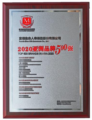2020亚洲品牌500强
