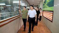 萍乡市委常委、副市长提名人选李明生到经开区调研工业产业项目发展情况