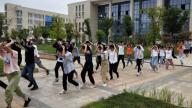 赣州瑞金一中组织师生开展防空疏散演练