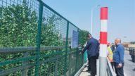 新余市交通运输局组织赴鹰潭考察城区跨铁路桥通讯管线工作