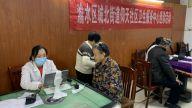 新余:关爱社区老人 健康体检送身边