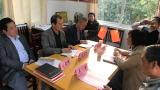 九江市老干部局调研组到九江一中调研离退休党支部党建工作