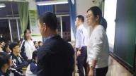 上饶市广信二中对高三年级学生仪容仪表进行检查