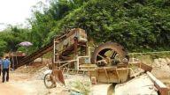景德镇市多部门联合行动合力整治河道非法采砂