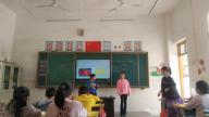 赣州市南康区镜坝镇中心小学开展语文课堂展示教研活动