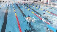 景德镇市首届中小学生游泳比赛举行