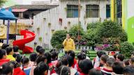 赣州市南康区第二幼儿园开展全国交通安全日活动