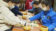 抚州市冬季少儿业余围棋段级位赛开赛