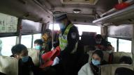 上饶市广丰交警举行2021年春运交通安保工作启动仪式