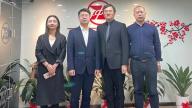 萍乡安源区东大街招商小分队考察推进招商项目