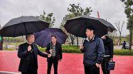 江西省水利厅现场调研萍乡湘东区打击非法采砂工作