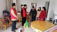 萍乡市委党校常务副校长黎雪源到丹江街开展扶贫救困学雷锋志愿服务活动