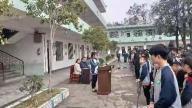 赣州市南康区浮石中学举行开学典礼