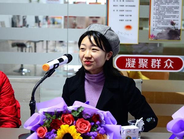金典城抗疫熱心居民、綺妝愛美麗美業集團萍鄉負責人辜飄飄