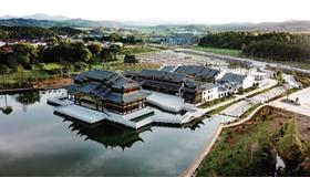 江西首个水上古戏台在乐平建成