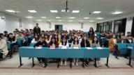 南昌大学第四临床医学院组织开展《前景无限》校歌传唱活动