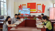 赣州市南康区第九小学每周集中进行党史学习教育