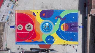 """地球日""""共享单车变球场""""项目落地青海 循环再生提振乡村活力"""