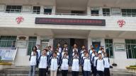赣州市南康区大坪中学开展师生合唱展示活动