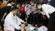 赣州市兴国县人民医院开展医共体成员单位新冠疫苗接种不良反应处置培训