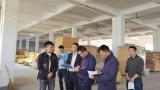 萍鄉市商務局赴后埠核查項目發展情況