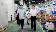 萍鄉市委副書記鮑峰庭走訪調研經開區重點企業