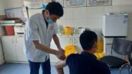 宜春市上高县南港中心卫生院有序开展新冠疫苗接种工作