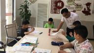 九江浔南小学党支部开展党员进社区志愿服务活动
