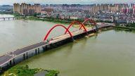 中洲大桥即将通车!