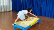 赣州市会昌县麻州镇中心幼儿园:生活自理  快乐自立