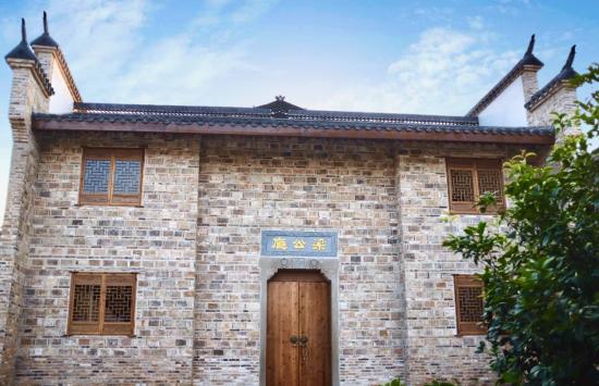东阳村梁公厅文化行馆修缮后