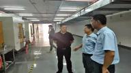 萍乡经开区党工委委员、管委会副主任黄镇萍调研周江信息产业园项目建设