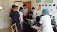 宜春市疾控中心到奉新县指导重点传染病工作