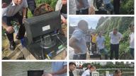 萍乡市城市管理局局长张达彪检查督导城区生活污水管网检测工作