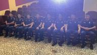 上饶市横峰县消防救援大队组织观看红色电影《三湾改编》