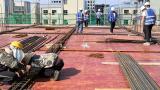 十七冶萍乡项目克服高温酷暑全力推进工程进度