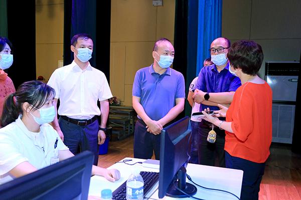 2 萍鄉實驗學校流動疫苗接種點