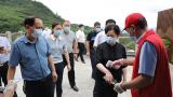 萍鄉市政府副市長肖雙燕深入武功山景區調研督導疫情防控、分時段預約工作