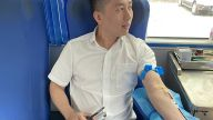 綻放熱血風采 萍鄉上栗農商銀行開展第三次無償獻血志愿服務活動