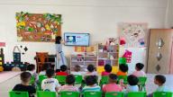 赣州市南康区坪市乡中心幼儿园开展庆中秋主题活动