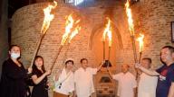 古窑:弘扬中华文明 点火复烧迎中秋