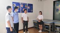 上饶市弋阳县消防救援大队开展校外培训机构消防安全检查