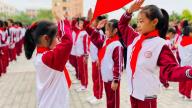 赣州市南康区第五小学举行主题队日活动暨新队员入队仪式